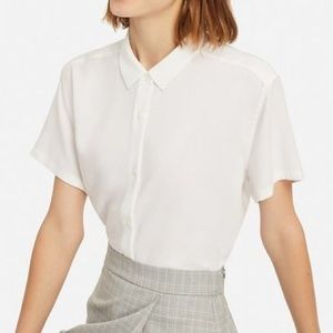 Uniqlo short sleeve blouse